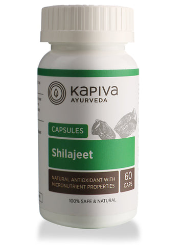 Kapiva Ayurveda Shilajit Capsule 60 For Vitality, Diabetes, Boost Immunity, Improves Stamina & Sexual Health