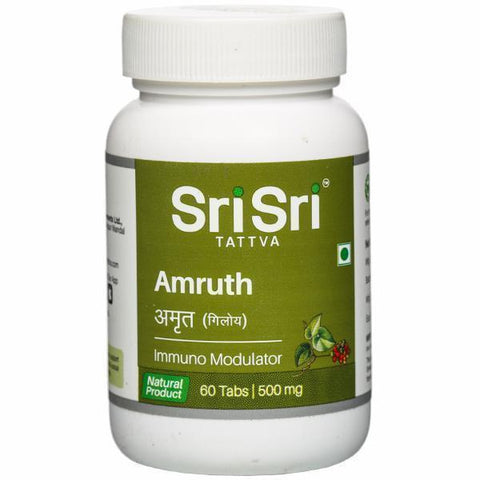 Sri Sri Tattva Amruth 60 Tablets - Pack of 3