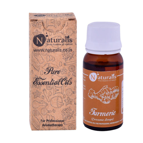 Naturalis Turmeric Essential Oil (30 ML) - Relieves Depression & Anxiety, Improves Liver Health, Fights Colon Cancer, Reducs Arthritis