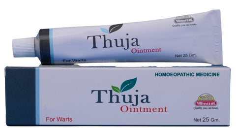 Wheezal Thuja Ointment 25GM For Warts, Skin Tags