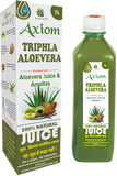 Axiom Triphla Aloevera Juice 1L - Reduce Weight, Lower Blood Glucose, Heartburn, Acidity & Constipation