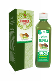 Axiom Triphla Juice 500 ML - For Digestion, Blood Pressure, Improves eyesight, Hair Fall, Weight Loss - Pack of 2