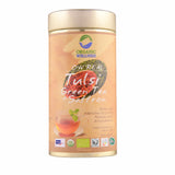 Organic Wellness Ow ' Real Tulsi Green Tea Plus Saffron 100 Gm  For Weight Loss, Boost Immunity & Relives Stress
