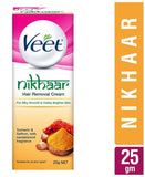 Veet Nikhaar Hair Removal Cream For All Skin Types 25Gm