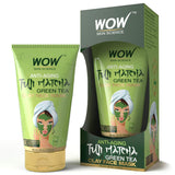 WOW Skin Science Anti Aging Fuji Matcha Green Tea Clay Face Mask 100 Ml