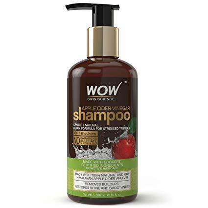 WOW Skin Science Apple Cider Vinegar Shampoo 300 Ml