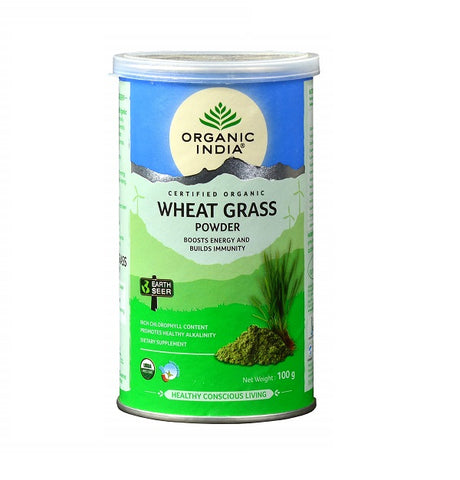 Organic India Wheat Grass 100 Gm