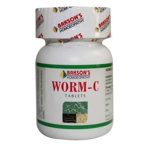 Bakson's Worm-C 75 Tablets - Pack of 2