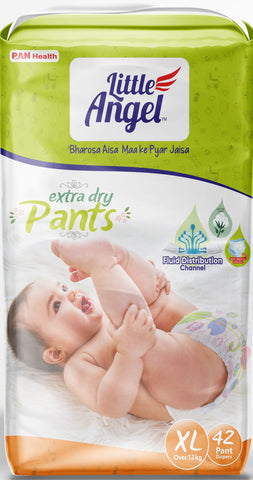 Little Angel Baby Pull Ups - X-Large (42 Pieces)
