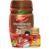 Dabur Chyawanprash Chocolate Flavour with Dabur Honey Free 450 GM