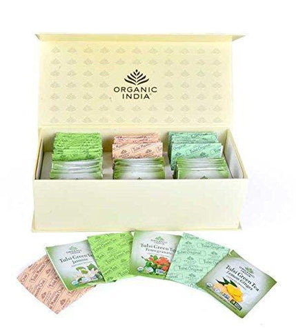 Organic India Cuppa Gift Box ( 60 Tea Bags )