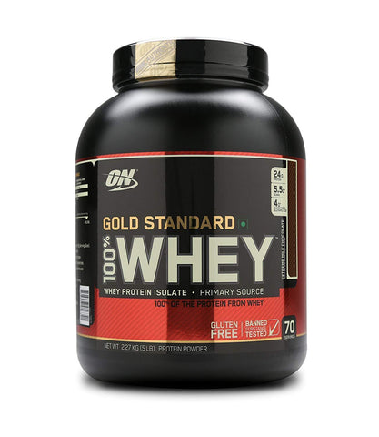 Optimum Nutrition Gold Standard 100% Whey Protein Powder 5LBS (2.27Kg) Extreme Milk Chocolate