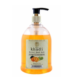 Vagad's Khadi Orange And Lemongrass Herbal Handwash 450Ml