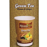 Necessitea Ready-To-Drink Lemon & Ginger Green Tea - 10 Cups