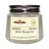 Khadi Leafveda Aloe Vera Herbal Massage Gel 200 Gm - Pack of 2