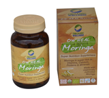 Organic Wellness Ow'Heal Moringa 90'S Capsule For Boost Immunity, Diabetes, Fevers, Bronchitis & Weight Loss