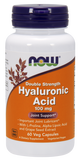 Now Foods Hyaluronic Acid 60's Veg Capsule