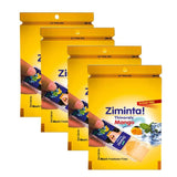 Ziminta Sugar Free Mint Mouth Freshener Mango (Pack Of 4*30 Strips)