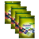 Ziminta Pan Masala Flavor Sugar Free Mint Mouth Freshener (Pack Of 4*30 Strips)