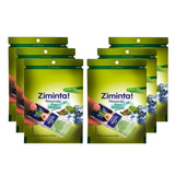 Ziminta Pan Masala Flavor Sugar Free Mint Mouth Freshener (Pack Of 6*30 Strips)