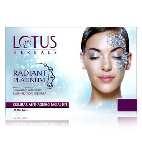 Lotus Radiant Platinum Cellular Anti-Ageing Facial Kit