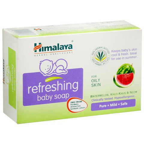 Himalaya Baby Refreshing Soap 125 Gm