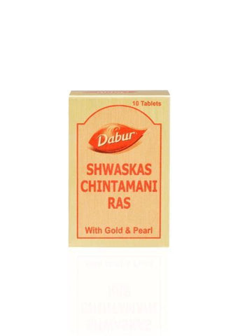 Dabur Shwas Chintamani Tablet For Respiration & Chronic Cough