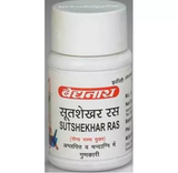 Baidyanath Sutshekhar Ras 40 Tablet - Pack of 2