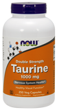 Now Foods Taurine 1000 Mg  250's Veg Capsule