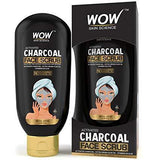 WOW Skin Science Activated Charcoal Face Scrub 100 Ml