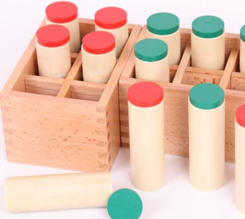 Twelve Sound Cylinders - The Montessori Store