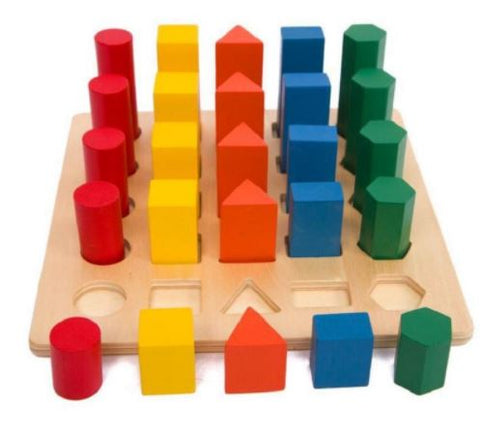 Geometry Ladder - The Montessori Store
