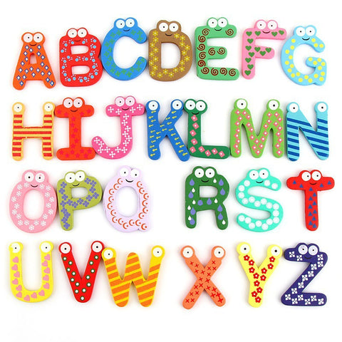 Cartoon Eye Alphabets - The Montessori Store