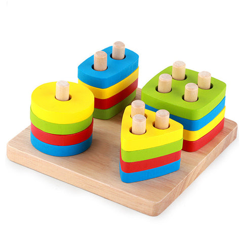 Color Shapes & Counting - The Montessori Store