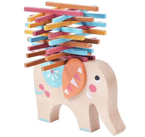 Elephant Stack'n'Balance - The Montessori Store