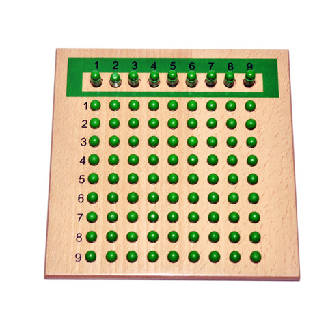 Multiplication & Division Board - The Montessori Store