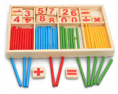 Counting Sticks - The Montessori Store
