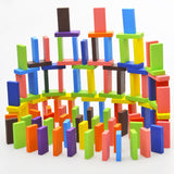 Colored Wooden Dominoes - The Montessori Store