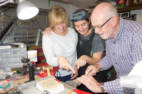 Northern Ireland Silver Jewellery Making Workshops