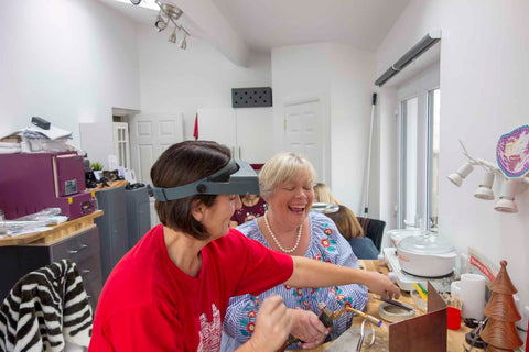 Our Jewellery Making Workshops are fun and for people of all abilities. Near Holywood our Studio has recently been refurbished and is ready to host groups wanting to learn how to make jewellery.