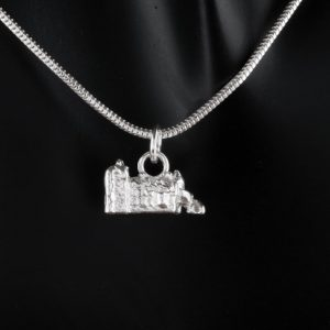 Belfast Castle Necklace. Our silver creation.