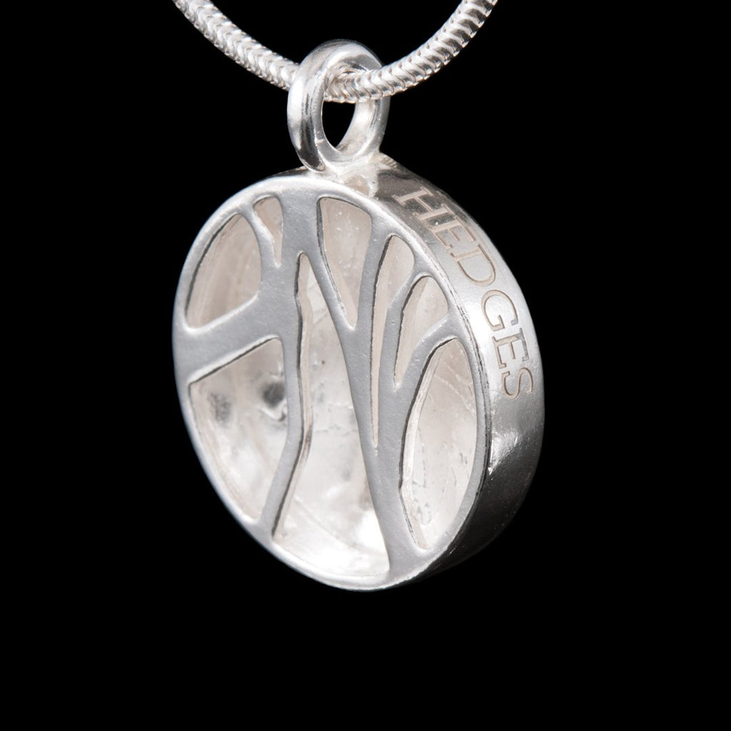 NI Silver Jewellery Dark Hedges Etched Necklace - Jewellery inspired by nature. Solid 925 sterling silver. jewellery maker near belfast northern ireland uk irish silversmith hallmarked jewelry