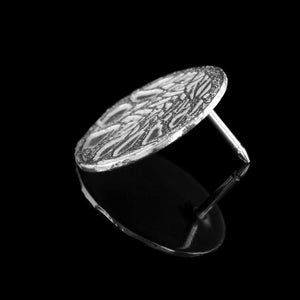 The Dark Hedges Lapel pin is made from solid silver and has a lovely tree design. Made in UK by NI Silver