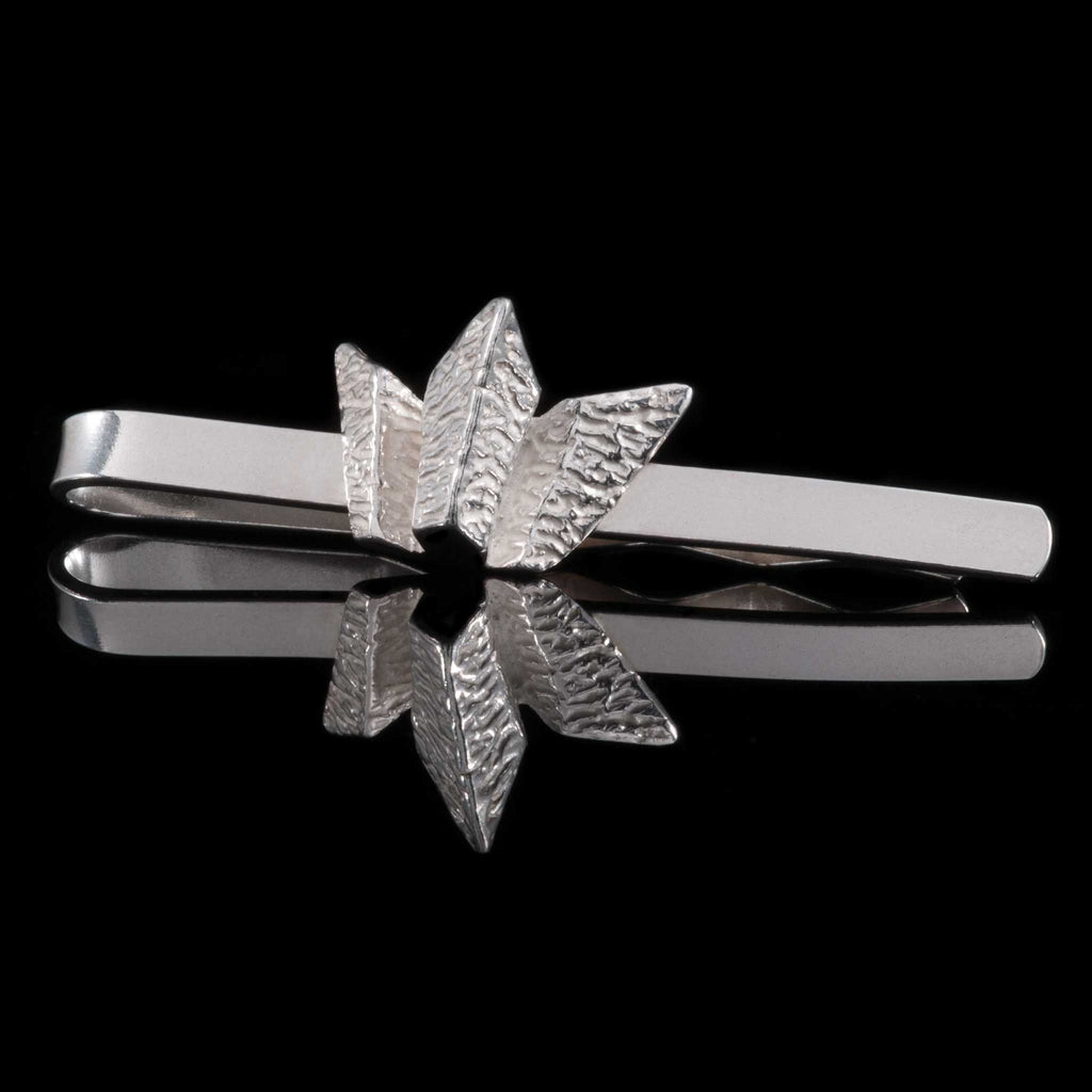 Titanic Belfast Silver Tie Clip - the clip can be engraved to personalise the Titanic Gift. Perfect of a Titanic Corporate Gift. Luxury Corporate Gift for Titanic.