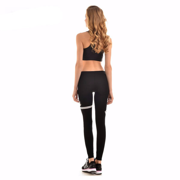 Women New Hot Fitness Stretch Pencil Pants *Fashion Women Cotton Blend Black Soft  Fitness Plus Size Pants