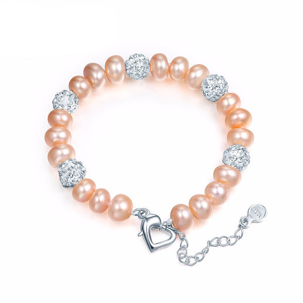 Gorgeous Natural Freshwater Pearl Bracelets For Women