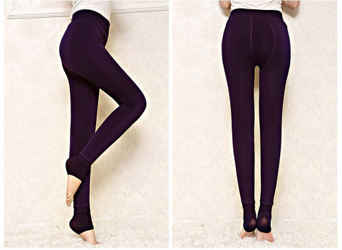 Winter Warm Thick Velvet Super Elastic Women Leggings/Pants