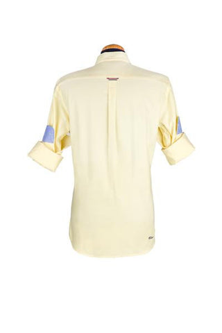 Yellow Oxford Long Sleeve Shirt