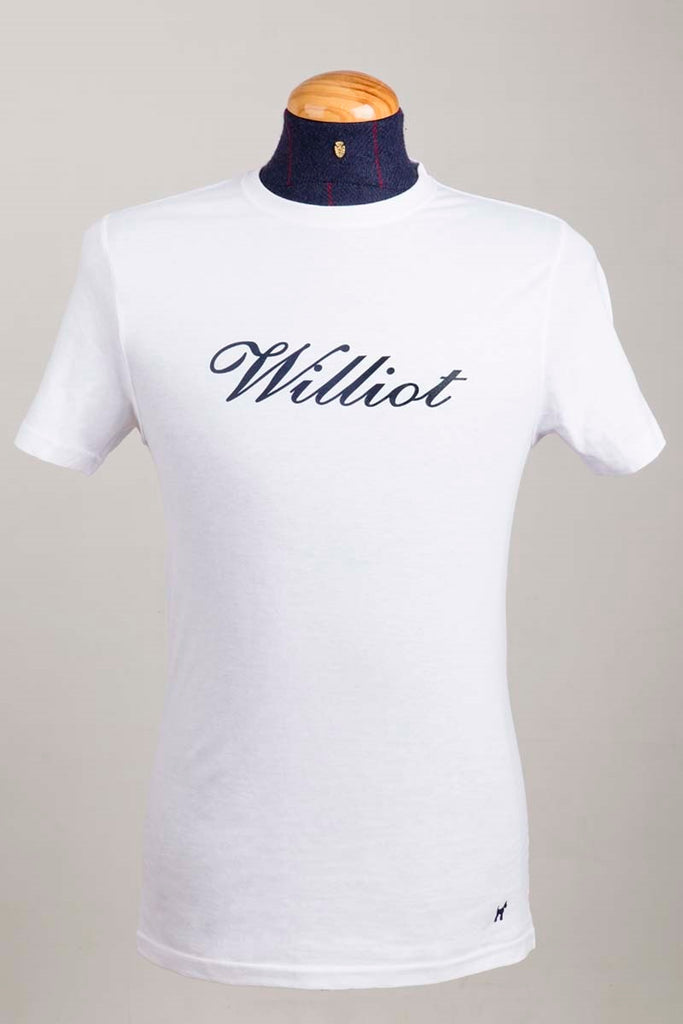 Williot Logo Cotton T-shirt