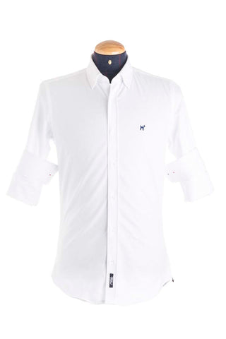 Pure Cotton Classic White Shirt - CAM 0030